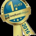 Auszeichnung kampfkunstkollegium 2016