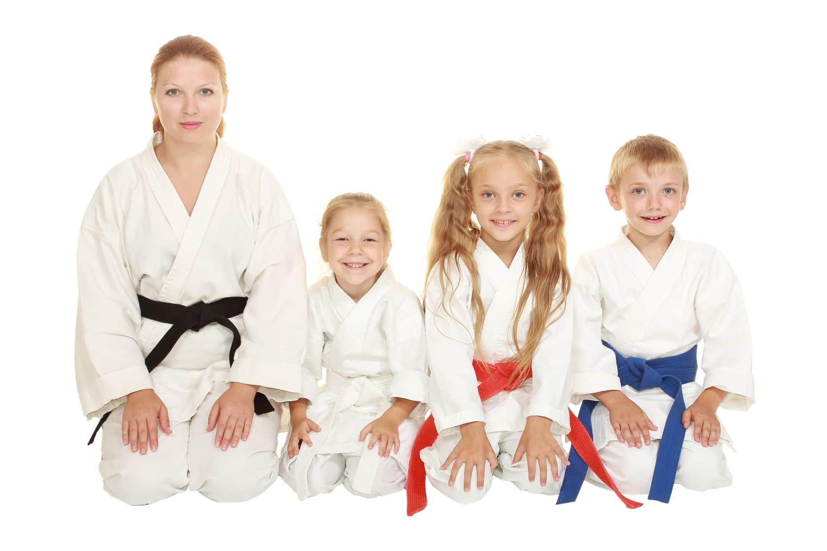 Kampfsport Familie