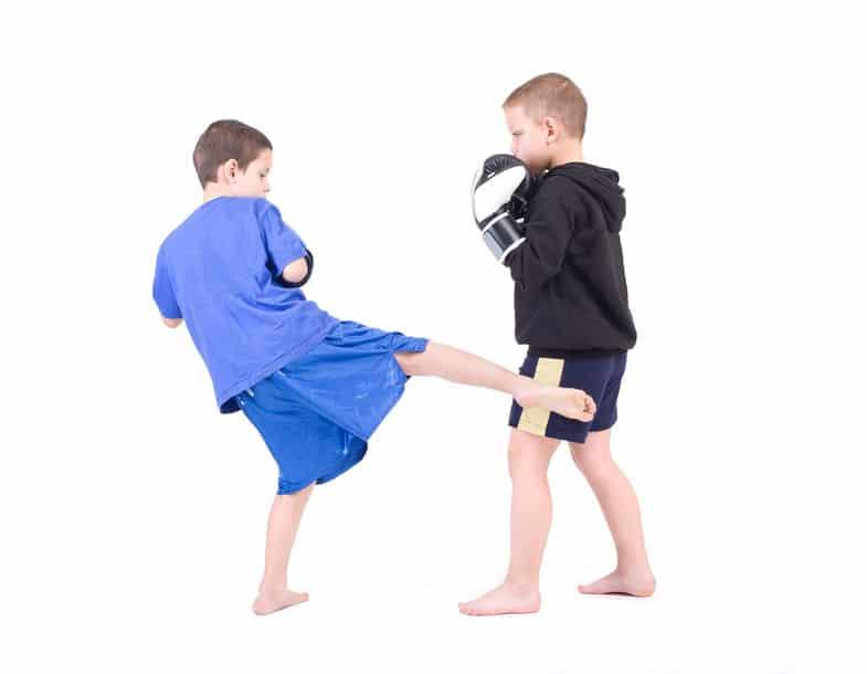 Kick-Thai-Boxen in Remscheid für Kids und Teens von 10 bis 14 Jahre