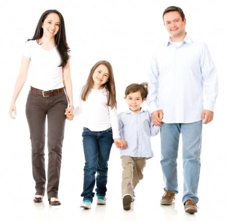 Familien im Kampfkunstzentrum-Remscheid Eltern Kind Karate in Remscheid