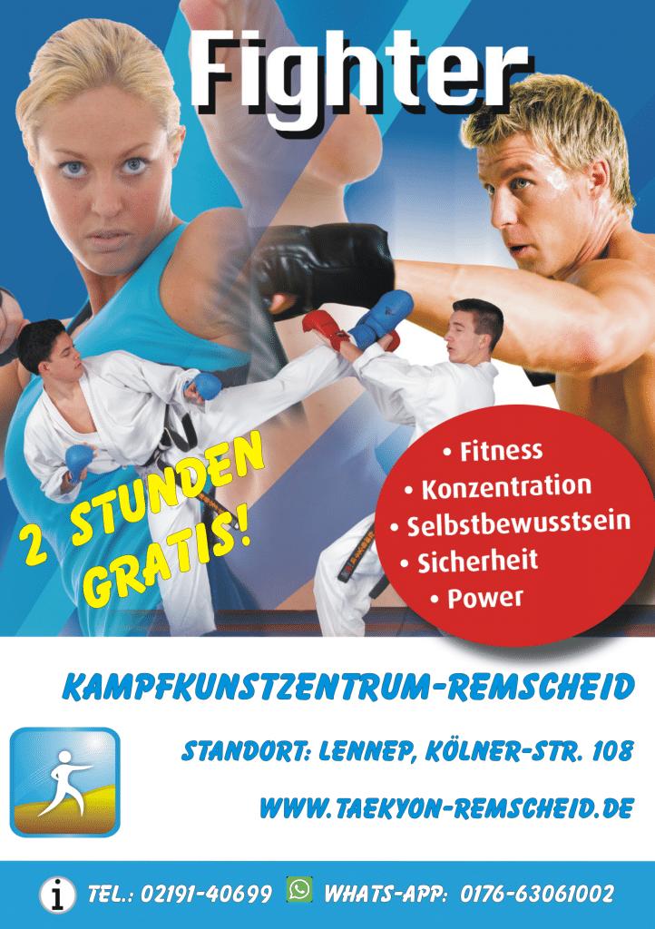 Fitboxen Fitnessboxen Kickboxen Remscheid Lennep