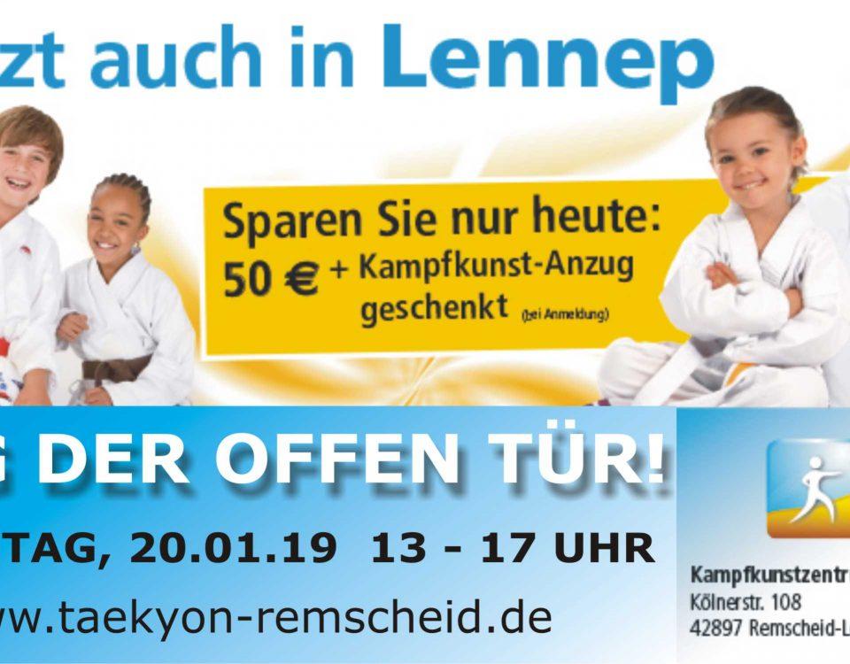 Jetzt auch in Remscheid-Lennep