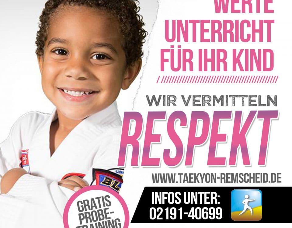 Werte Unterricht Respekt