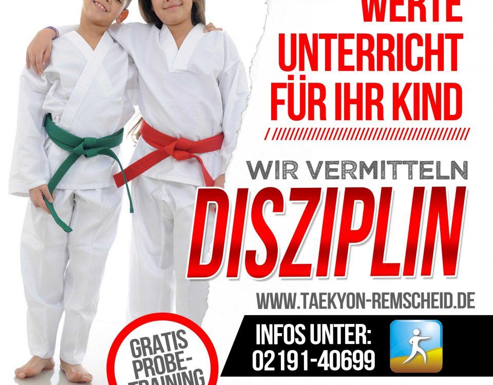 Thema des Monats: Disziplin