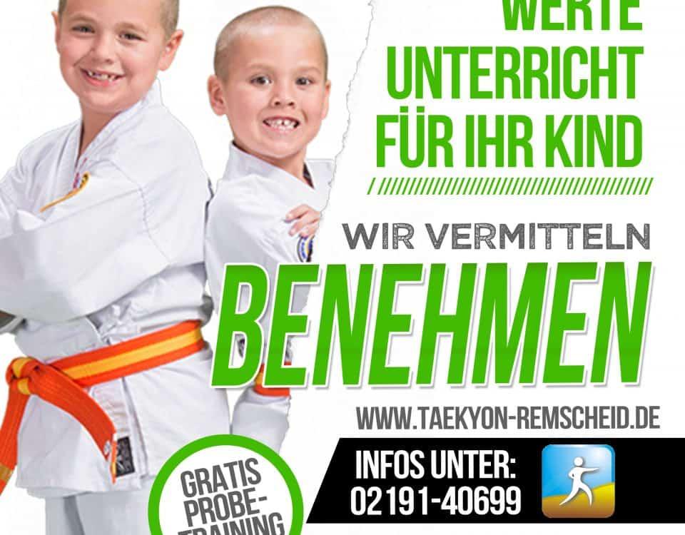 Kinderkampfkunstunterricht Remscheid